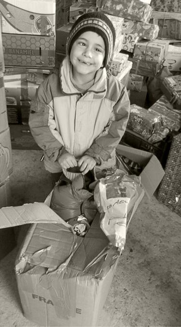 Alin lebt zur Zeit in einer Pflegefamilie in Pomirla