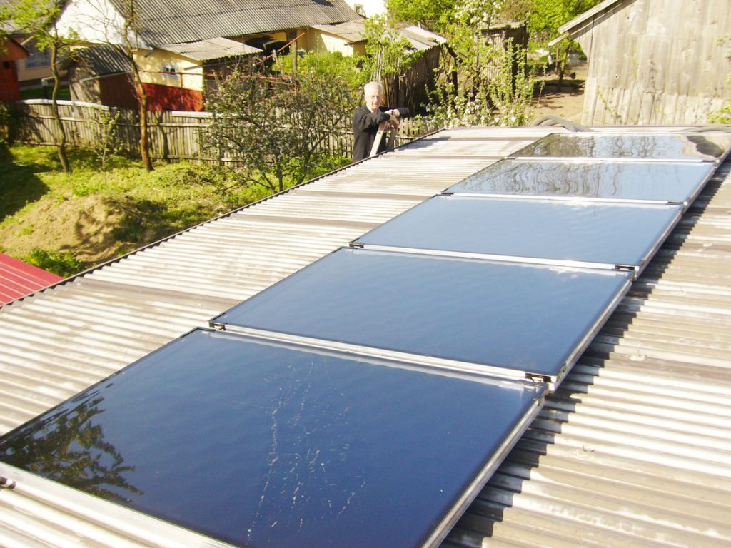 Solaranlage-Waisenhaus