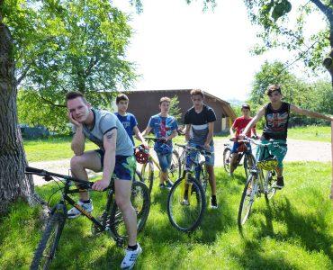 "Projekt ""Sommerferien auf dem Fahrrad"""